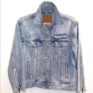 Levis classic Jean jacket women's redone